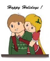 Happy Holidays, from J+J by flyingkittie