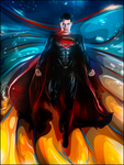 Man of steel by UraDesing