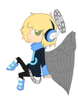Urban Angel Adopt .:CLOSED:. by Wolfie-Bases-Adopts