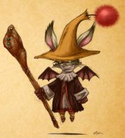 Moogle Mage by Morbidmic