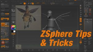 Zbrush 4r6 ZSphere tips and tricks HD by amokk20