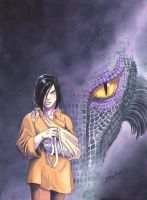 To Kill a Dragon GN Cover by SmudgeDragon