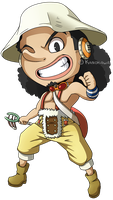 One Piece: Usopp Chibi by Kanokawa