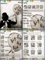 Bla-bla Nokia s40 3d Theme by Aquafeya