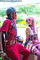 Otakon 2014 - Defiers of Fate(PS) 03 by VideoGameStupid