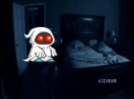 Mighta in Paranormal Activity by AnnyWhistle