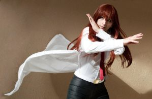 Steins Gate - Strike a pose, Christina! by Rei-Suzuki