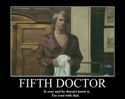 5th Doctor's Motivational Robe by HamillJoker