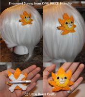 Thousand Sunny from One Piece Hairclip by vklolita