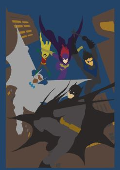 batwing 7 cover by jayfabs-d4ibqae Flats by LadyRavenclaw16
