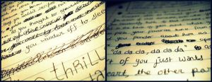 Scribbles in Writing by kezzoXrawks