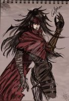 Vincent Valentine by CaelpHer