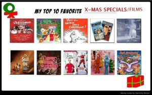 My 10 Favorite Christmas Specials by KajeetDudesKatie