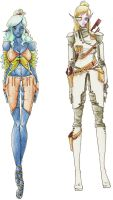 Alaerin Outfit Designs by Prince-Zaire