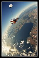 Free falling 2 by thebullfrog
