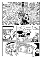 Ash VS Serena Page 2. by Rohanite