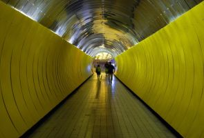 Yellow Tunnel by canbayram