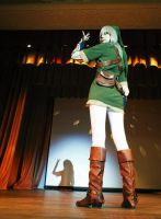 Dramatic Link by palecardinal