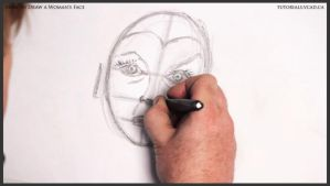 How to Draw a Woman's Face 013 by drawingcourse