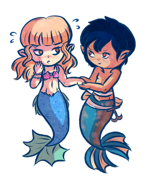 Freckled Sirens by Jrynkows