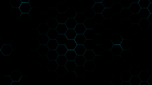 Hexagons - Blue by achintyagk