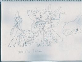XIVCaliber's Team by Dreamaniacal