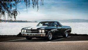 Black 1970 El Camino SS by AmericanMuscle