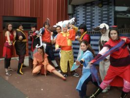 Supa 2013: Avatar the Last Airbender by evilfuzzle2