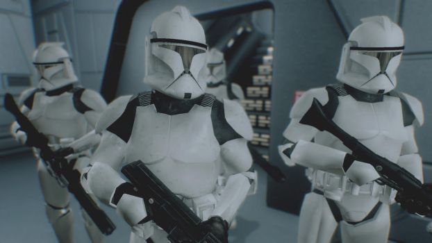 Phase I Clone Trooper Armor by CptRex