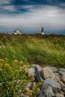 Point Judith Lighthouse by pewter2k