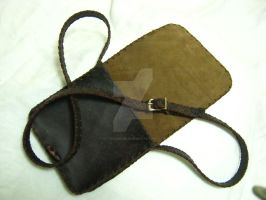 Brown Leather Satchel by OfTheGodsBlood