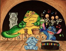 A NEW MEMBER TO THE MAX REBO BAND by DannyNicholas