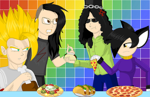 :.:Food Fight!:.: by shadethecb
