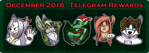 [C][PTR] - December Stickers by Temrin