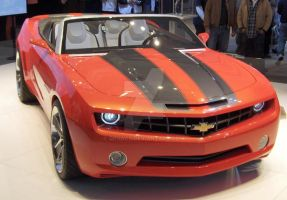 Chevy Camero Convertable 2008 by Qphacs