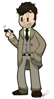 That shabby looking man from the police department by GSVProductions
