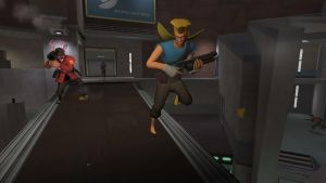 FLEE SCOUT FLEE by impostergir007