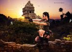 Lara Croft Inspired by FictionChick