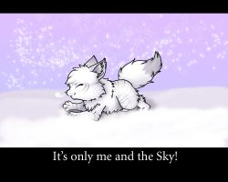 It's only me and the sky by dark-reign