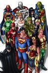 Justice League by AdamWithers