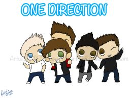 One Direction by BananaOwlArtist