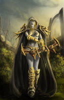Drow Ranger... take 3 by Eupackardia