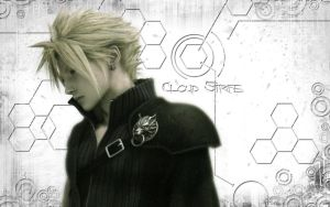 FF Cloud Strife Wallpaper by Kalsypher