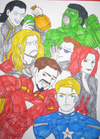The Avengers by Yulie96
