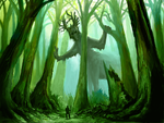 Forest Guardian by Kubeen