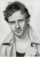 Michael Fassbender by lauraflojo