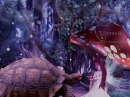 Turtle and Child by annemaria48