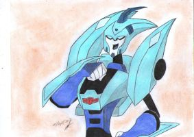 Blurr transformers animated again by ailgara