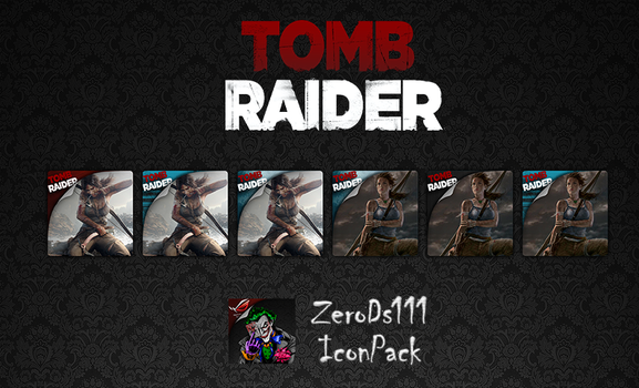Tomb Raider Icon Pack by ZeroDs111