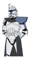 Captain Rex by vaderboy